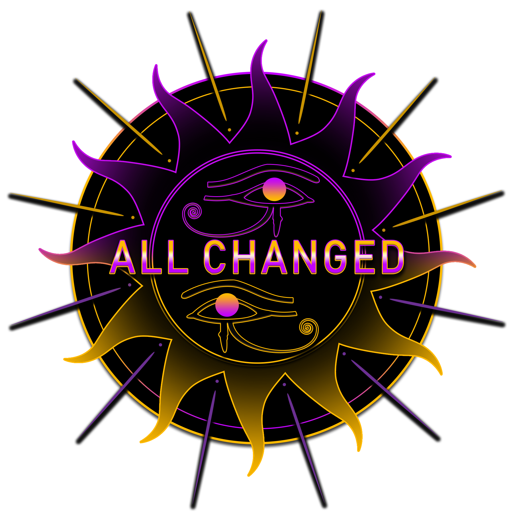 All Changed - Coloured Logo no. 2 - PNG for Web